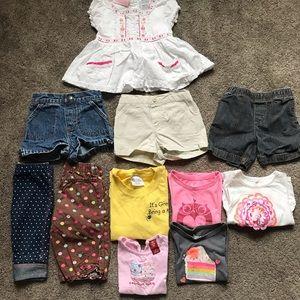 Other - 11 piece Girls 2t spring/summer bundle